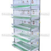 قفس بلدرچین - قفس مرغ - قفس کبک