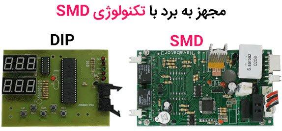 تکنولوژی SMD برد ماشین جوجه کشی